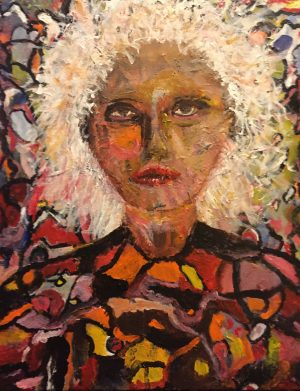 White Haired Woman